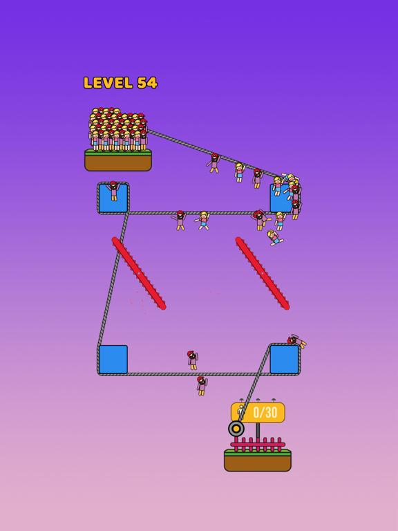 Rope Rescue! - Unique Puzzleのおすすめ画像3