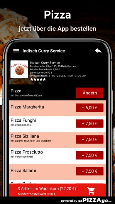 Indisch-Curry Service München screenshot 5