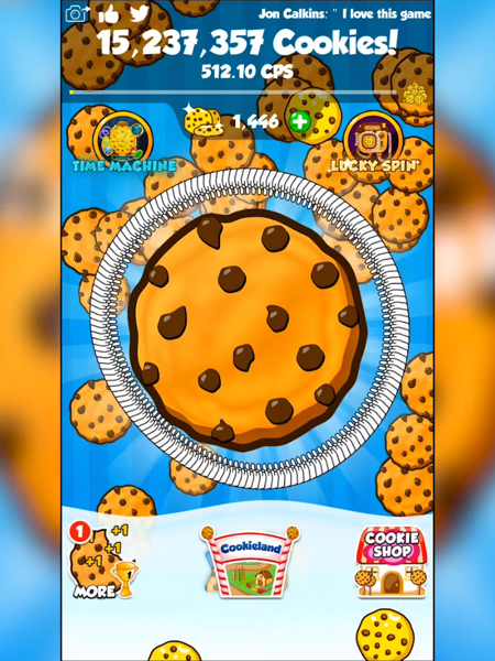 Cookie Clickers 2 - Revenue & Download estimates - Apple App