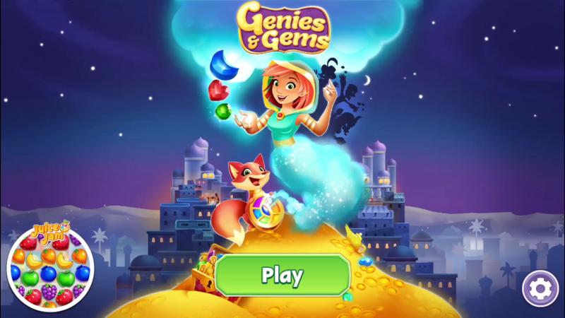 Genies & Gems: Puzzle & Quests - Revenue & Download