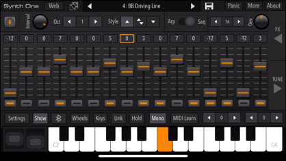 AudioKit Synth One Synthesizer App 视频