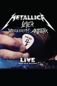 Metallica, Slayer, Megadeth, Anthrax - The Big Four: Live from Sofia, Bulgaria