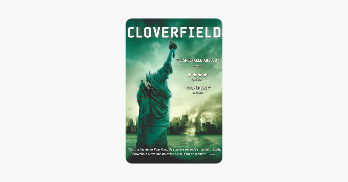 Cloverfield Sur Itunes