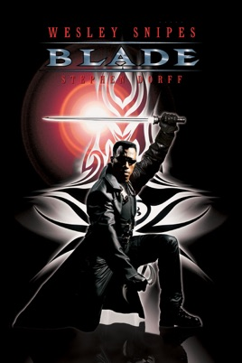 Poster of Blade 1998 Full Hindi Dual Audio Movie Download BluRay 720p
