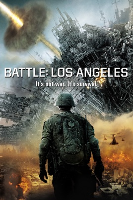 Poster of Battle Los Angeles 2011 Full Hindi Dual Audio Movie Download BluRay 720p