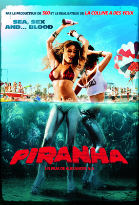 Alexandre Aja - Piranha (VF) illustration