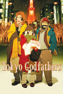 Satoshi Kon - Tokyo Godfathers illustration