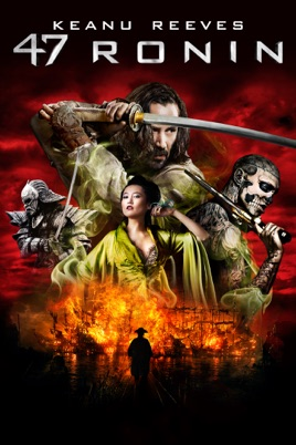 Poster of 47 Ronin 2013 Full Hindi Dual Audio Movie Download BluRay 720p