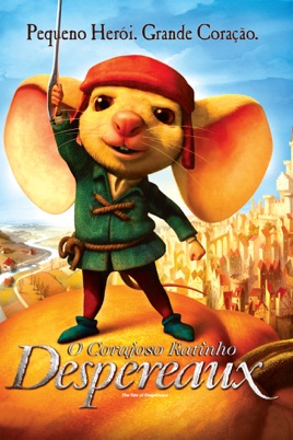 o corajoso ratinho despereaux dvdrip