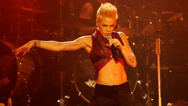 Live from Wembley Arena London, England P!nk Pop Music Video 2003 New Songs Albums Artists Singles Videos Musicians Remixes Image