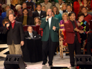 Hark! The Herald Angels Sing / O Come All Ye Faithful (feat. Greater Vision) [Live] - Bill & Gloria Gaither