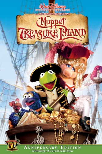 Muppet Treasure Island movie poster