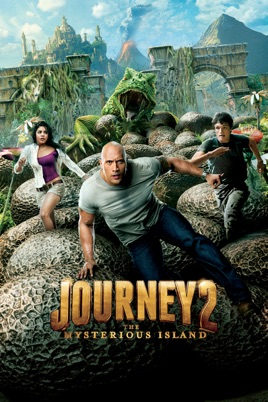 Poster of Journey 2: The Mysterious Island 2012 Full Hindi Dual Audio Movie Download BluRay 720p