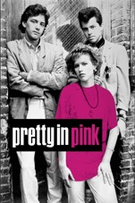 Capa do filme A Garota de Rosa-Shocking (Pretty in Pink)