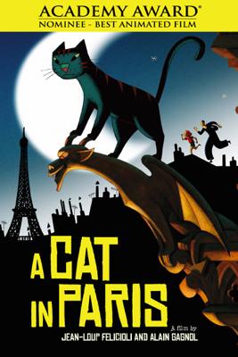 Jean-Loup Felicioli & Alain Gagnol - A Cat In Paris  artwork