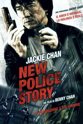 Poster of New Police Story 2004 Full Hindi Dual Audio Movie Download BluRay 720p