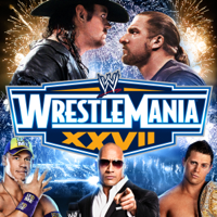WWE WrestleMania - Jerry Lawler vs. Michael Cole With Special Referee Stone Cold Steve Austin artwork
