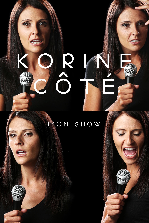 Korine Côté– Mon show (DVD)
