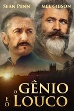 Capa do filme O Gênio e o Louco