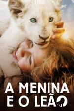 Capa do filme A Menina e o Leão