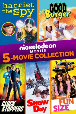 Poster for Nickelodeon 5-Movie Collection