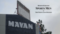 Sports Men (Live at The Mayan Theatre, Los Angeles, July, 2019)