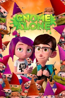 Poster of Gnome Alone 2017 Full Hindi Dual Audio Movie Download HDRip 720p