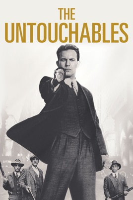 Poster of The Untouchables 1987 Full Hindi Dual Audio Movie Download BluRay 720p