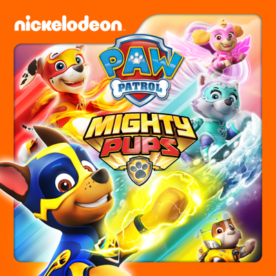 PAW Patrol, Mighty Pups HD Download