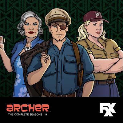 Archer, The Complete Seasons 1-9 HD Download
