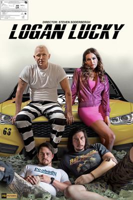 Steven Soderbergh - Logan Lucky artwork