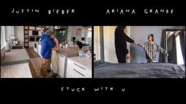 Stuck with U Ariana Grande & Justin Bieber Pop Music Video 2020 New Songs Albums Artists Singles Videos Musicians Remixes Image