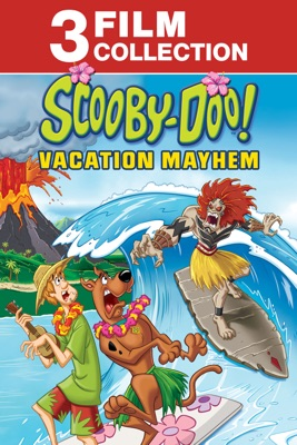 Poster for Scooby-Doo! Vacation Mayhem 3-Film Collection