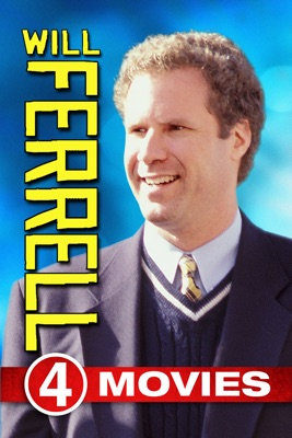 Poster for Will Ferrell 4-Movie Collection