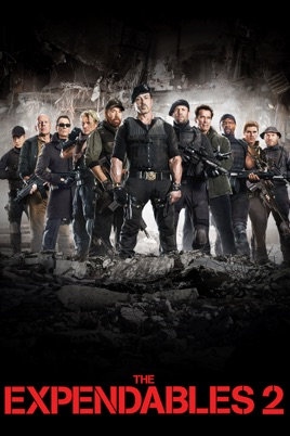 Poster of The Expendables 2 2012 Full Hindi Dual Audio Movie Download BluRay 720p