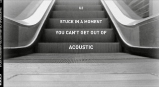 Stuck In A Moment You Can't Get Out Of (Acoustic Version / Lyric Video)