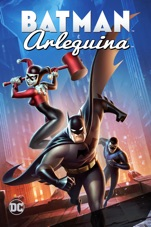 Capa do filme DCU: Batman e Arlequina
