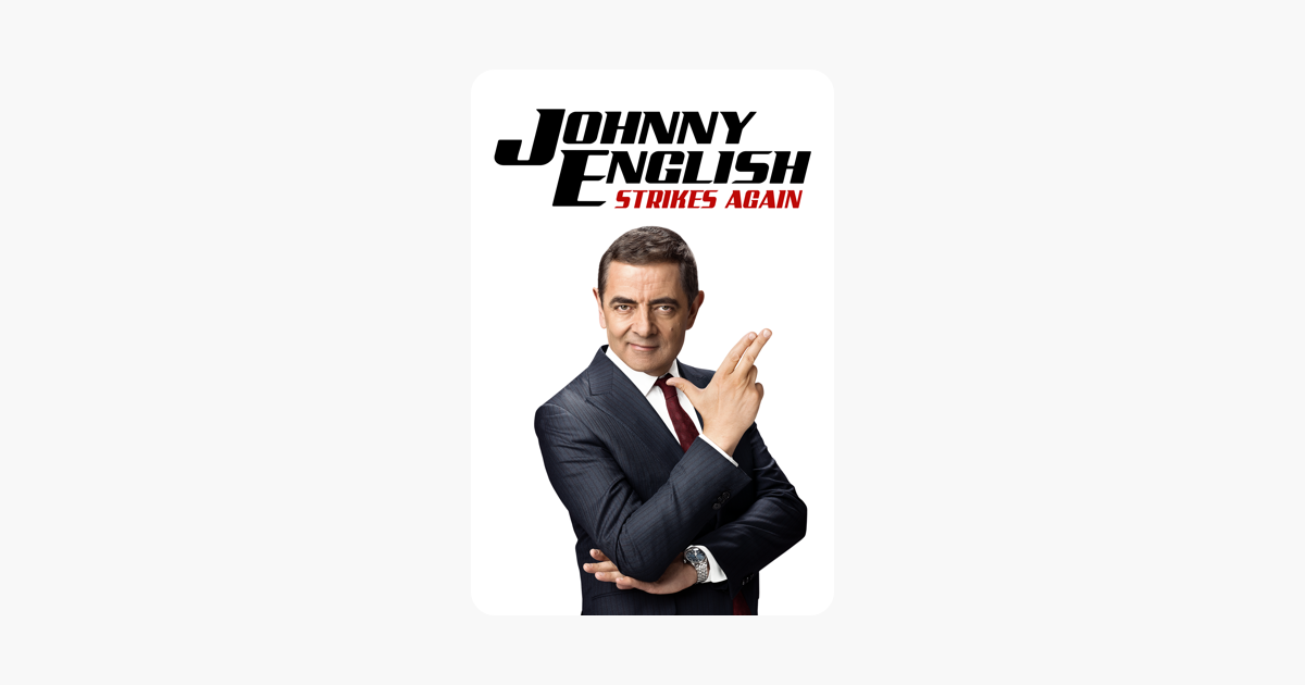 Johnny English Strikes Again On Itunes