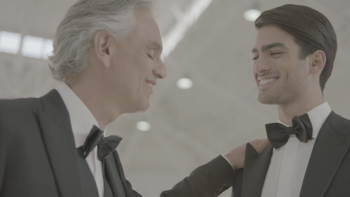 Andrea Bocelli & Matteo Bocelli Fall On Me music review