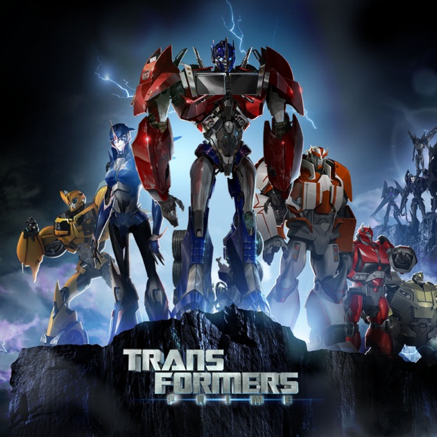 Transformers Prime, Vol. 5 On ITunes