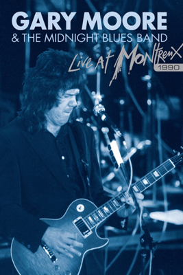 Gary Moore & The Midnight Blues - Gary Moore & the Midnight Blues - Live at Montreux 1990 Grafik
