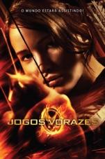 """Capa do filme Jogos Vorazes """"Versão em Português"""""""