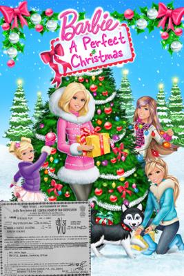 Mark Baldo - Barbie: A Perfect Christmas artwork