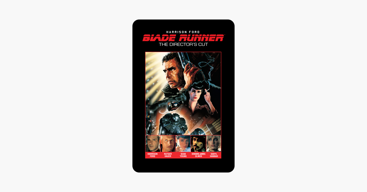 Blade Runner Directors Cut On Itunes