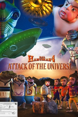 ‎Bal Hanuman 4 - Attack of the Universe on iTunes