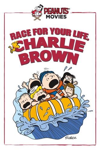 Race for Your Life, Charlie Brown movie poster