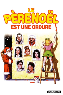 Jean-Marie Poiré - Le Père Noël est une ordure ! (1982) illustration
