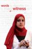 Words of Witness - Mai Iskander
