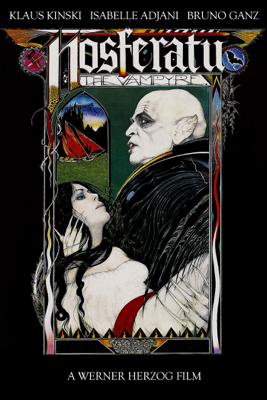 Werner Herzog - Nosferatu the Vampyre  artwork