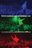 Peter Gabriel - Live In Athens 1987  artwork